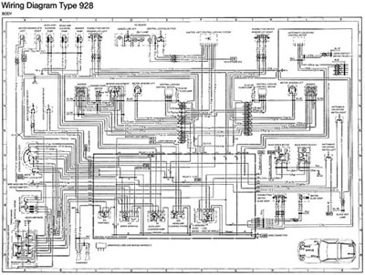 electrical parts, 928 alternators, upgrades, and replacement, Wiring diagram